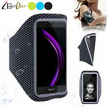 Sport Running Ultra Light Arm Band Case Cover for Huawei Nova Smart , Honor Bee 2 , Honor 6C , Y5 2017 , Enjoy 6S , Y6II Compact