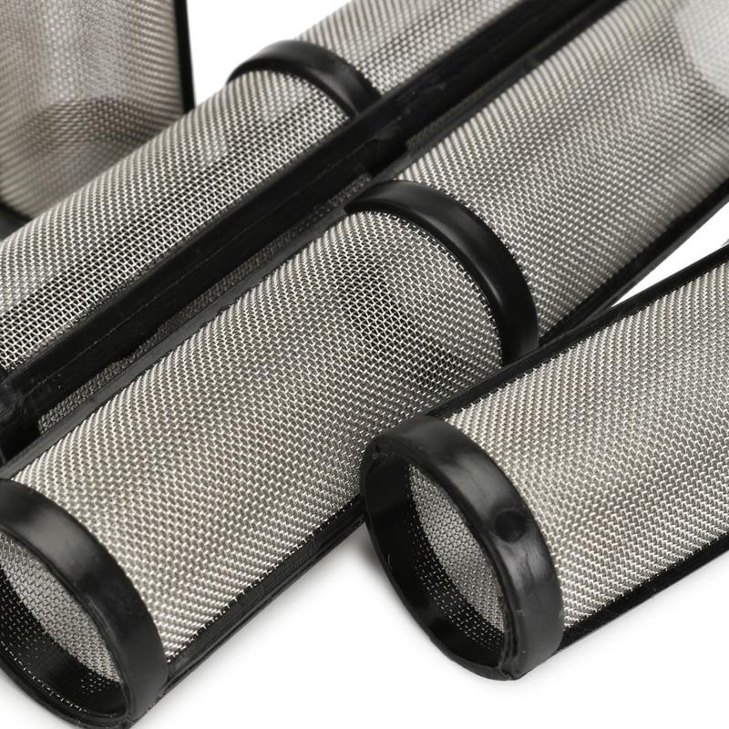 4PCS /set Black 60 Mesh Airless Spray Pump Filter For Graco 390/395/495/595 Sprayer