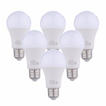 A19 LED Light Bulb 9W E26 LED Bulbs Light 120V 2700K / 5000K, 60W Equivalent, Cold White Warm White Bulb Led bulb Lights 6X(China)