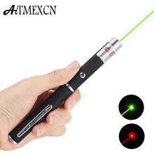 Aitmexcn Red Laser Pointer 5mW Powerful 500M Laser Pen Professional Lazer pointer For Teaching Green lazer pen burning/015