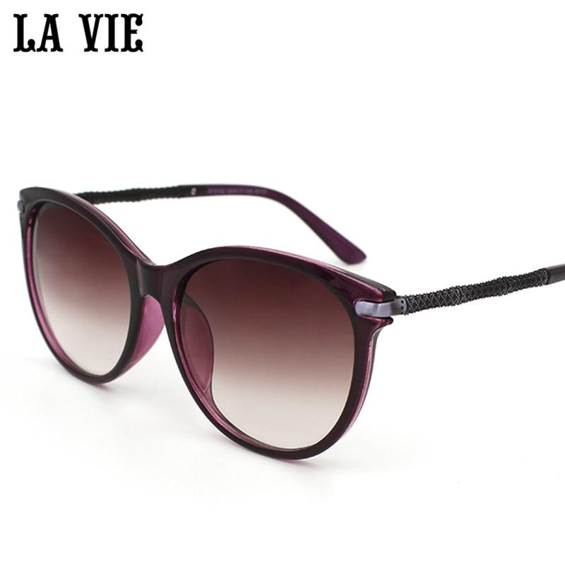 LA VIE Fashion Women Sunglasses Glasses Cat Eye Sunglasses Women 2017 Brand Designer High Quality Square lunette de soleil homme<br><br>Aliexpress