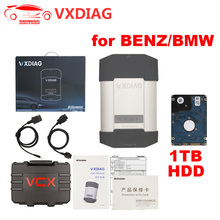 VXDIAG OBD2 Diagnostic Tool for Mercedes BENZ / BMW 2 IN 1 Support WIFI / USB Connection VXDIAG Diagnostic Scanner with Software(China)