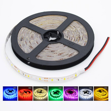 5m/pack SMD 2835 Waterproof LED Strip Garland Gaskets 5m Light Flexible DC 12V Tape Wire Lamp Christmas Home Party decoration