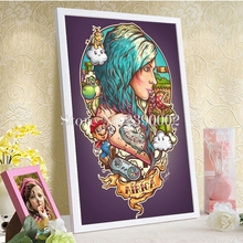 5D Diy Diamond Painting Cross Stitch Star Wars, PokeMon, Final Fantasy, Doctor Who Full Diamond Mosaic Illustrations Embroidery
