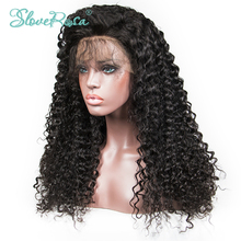 Full Lace Human Hair Wigs For 150% Remy Human Wigs Peruvian Deep Wace Lace Wigs With Baby Hair Bleached Knots Slove Rosa Hair(China)