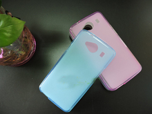Soft TPU Rubber Matte Case for ZTE Blade L370 L 370 Colorful Skin Gel Cover For ZTE L370 Case Capa Top Quality