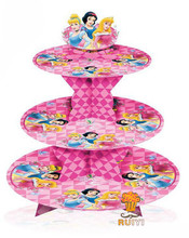Snow white princess cupcake stand  cupcake holder girl kids birthday party supplies party favor decoration AW-1007