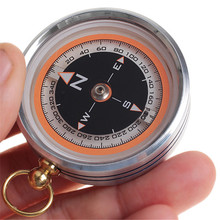 New Pocket Design Practical Portable Lensatic Compass for Outdoor Activites Random color(China)