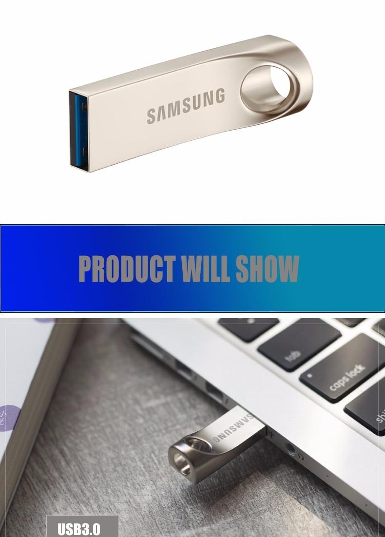 original SAMSUNG USB Flash Drive Disk 16G 32G 64G 128G USB 3.0 Metal Mini Pen Drive Pendrive Memory Stick Storage Device U Disk