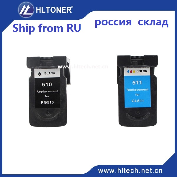 2pcs ink cartridge compatible PG510 CL511 for IP2700 IP2702 MP240 MP250 MP252 MP260 MP270 MP272 MP280 MP330 MP480 MP490 MP492 <br><br>Aliexpress