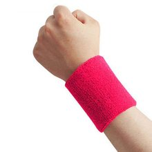 Outdoor Useful New Sweatbands Wrist Sweat Band Sports/Yoga/Workout/Running Wristband 43BP(China)