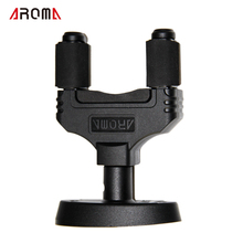 Guitar Neck Support for All Guitar Bass Ukelele Instrument / Aroma  Wall-mounted Hanger Rack Hook Aroma AH-81 /Bass Neck Holder