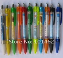 promotional  message banner ball  pen, accept client logo printing !!