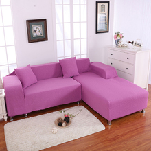 Case jacquard sofa cover high quality design modern corner couch fabric furniture protect colorful elastic pillowcase