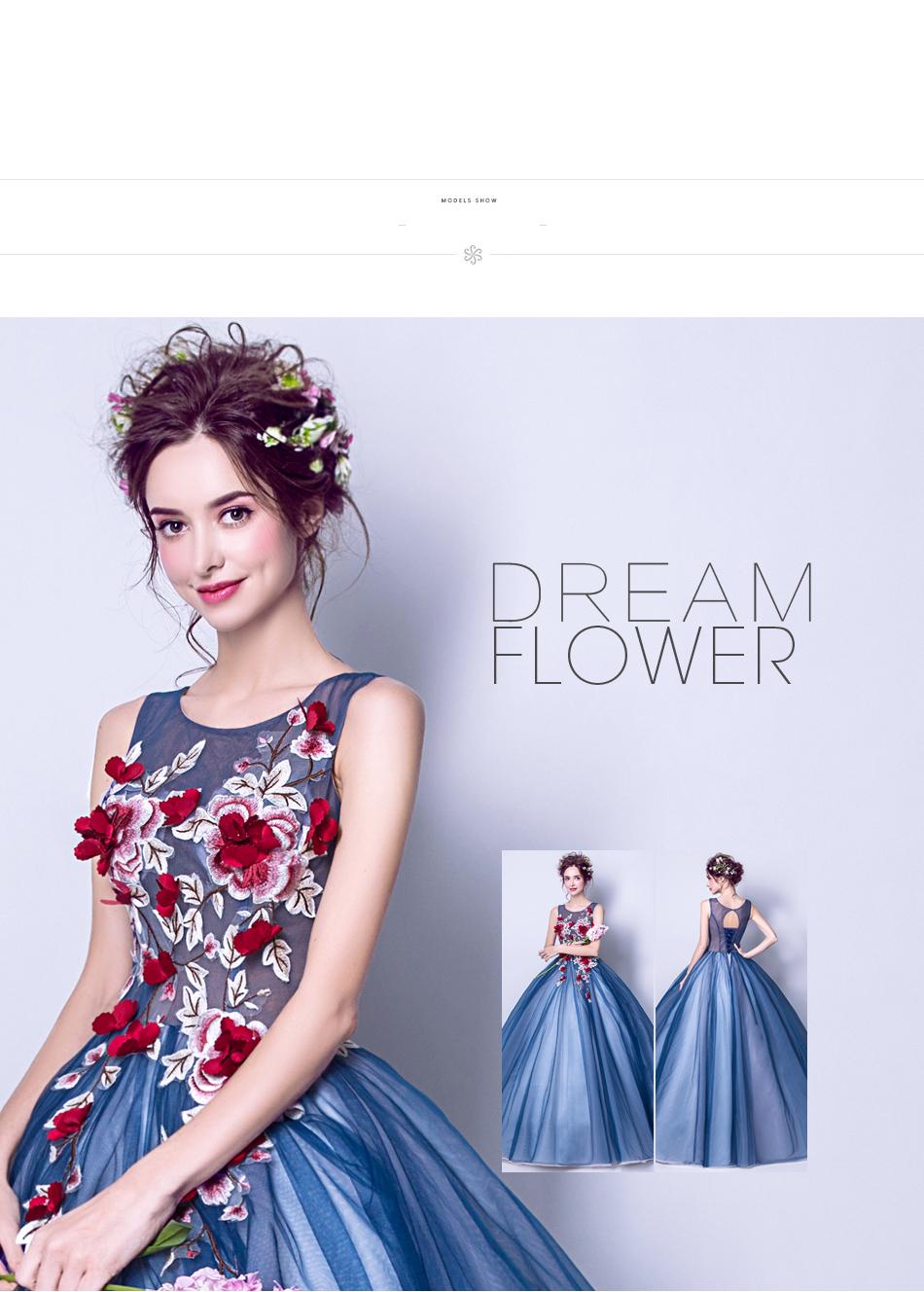 Angel Wedding Dress Marriage Evening Bride Party Prom Bridal Gown Vestido De Noiva Blue camouflage, fantasy flowers 2017 7572 5