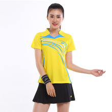 New Tennis Twinset Women's Badminton Tennis Skirts for Girls Attracts Sweat Suit Short-sleeved Summer Quick Dry Clothes