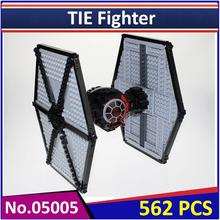 05005 Compatible Legoes Star Wars Figures First Order Special Force TIE Fighter 75101 Building Blocks Educational Toy(China)