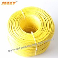 Free Shipping 200m 6mm 12 Weaves UHMWPE Hollow Braid Marine Winch Towing Rope(China)