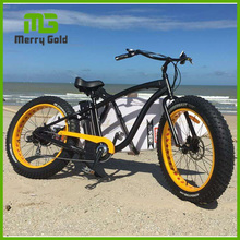 Electric Bicycle Bike Merry Gold Hummer ebike with 48V 500W 26*4.0 Fat Tire