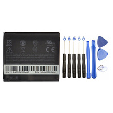 Hot! 1230mAh 10Pcs tools +Phone Battery BB81100 For HTC HD2 HD 2 T8185 T8585 T8588 T9193 DOPOD LEO100