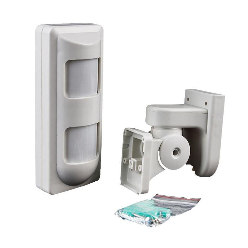 10pcs/lot DHL Shipping Wired Outdoor PIR Sensor Pet Friendly Dual PIR+MW Motion Detector for Intrusion Burglar Alarm Systems<br>