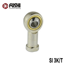 SI3T/K Rod End Joint Bearings 3mm ( 2 PCS ) Self Lubricating Female Right Hand Threaded Rod Ends Bearing PHSA3
