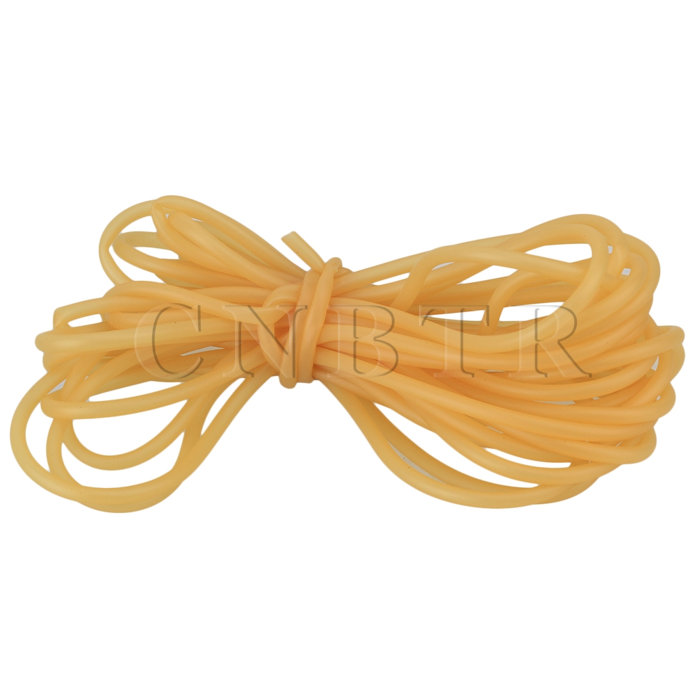1000cm Natural Latex Rubber Surgical Tube Band Tourniquet For Slingshot 4 x 6mm  CNBTR<br><br>Aliexpress