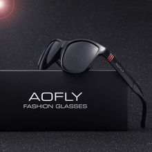 AOFLY Brand Design Men Classic Sunglasses Polarized Male Glasses Driving Fishing Luxury Sun Glasses for Men Oculos Gafas AF6021(China)