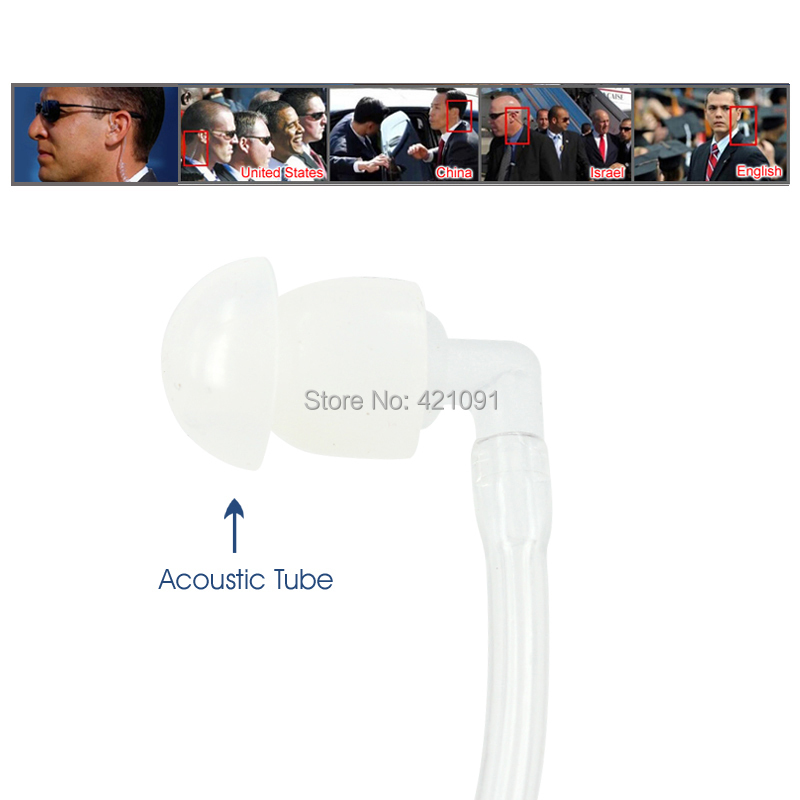Air Tube Earpiece for Hytera HYT PD780 PT580H Radio 8 IMG_0088
