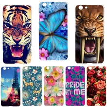 "Buy elephone r9 Case Cover New Fashion Painted Tiger Owl Rose Cat Deer Hard PC Back Cover elephone r9 5.5"" Cases DIY Phone Bags for $1.91 in AliExpress store"