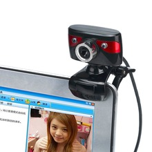 12.0M Pixels HD Left Right 360 Degrees Rotatable Web Camera Digital Video Webcamera For Computer PC Laptop Notebook A886