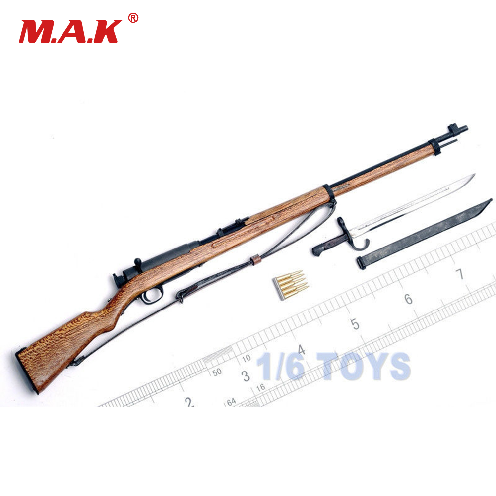 1/6 Scale WWII Japan Soldier Weapon Model Arisaka Ti-Lite T8007 Metal 38 Rifle Gun Collections<br>