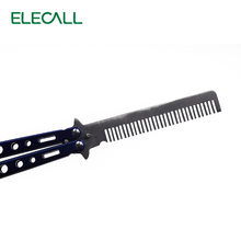 Not Sharp Knife American Butterfly Practice Knife Stainless Steel Camping Tool Combe Balisong knife