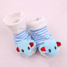 Buy Baby Christmas Spcks Cartoon Animal Socks Anti-slip Rubber Sole Infant Socks 3D Soft Warm Cute Newborn Toddler Floor Socks for $1.09 in AliExpress store