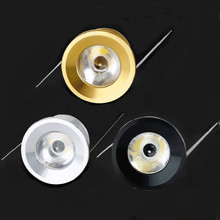 50pcs 1W Under Cabinet Spot Light Mini LED Downlights Ceiling Recessed Lamp for kitchen Jewelry cabinet wine Display downlight