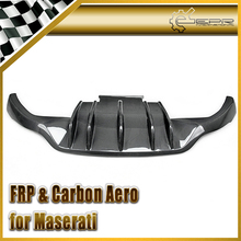 Car Styling For Maserati Gran Turismo DXC Carbon Fiber Rear Diffuser (4200cc)