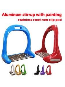 Riding-Equipment Stirrup Horseback Equestrian Anti-Slip Aluminum Stainless-Steel