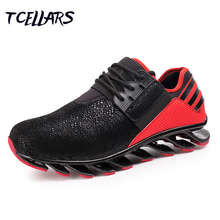 Newest running shoes authentic cheap men shoes outdoor flat sports shoes comfortable jogging homme