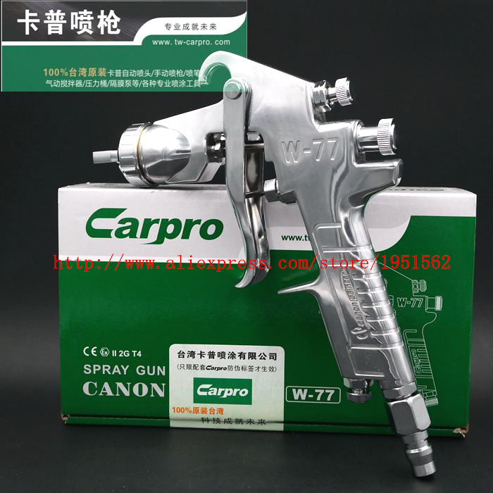 Original Taiwans latest high quality high atomization NEW HVLP Carpro spray  gun W-77G Leading science and technology<br><br>Aliexpress