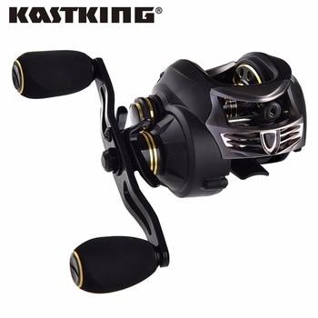 Kastking sigilo cuerpo del carbón ligero estupendo 169.5g 7.0: 1 fresco/baitcasting carrete de la pesca señuelo de la pesca de agua salada carrete