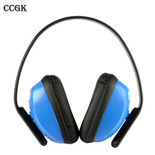 Ear Protectors Noise Soundproof Earmuffs Sleep Headset Protective Ear Defender Muff Protector SNR 28dB Height Adjustable 103010(China)