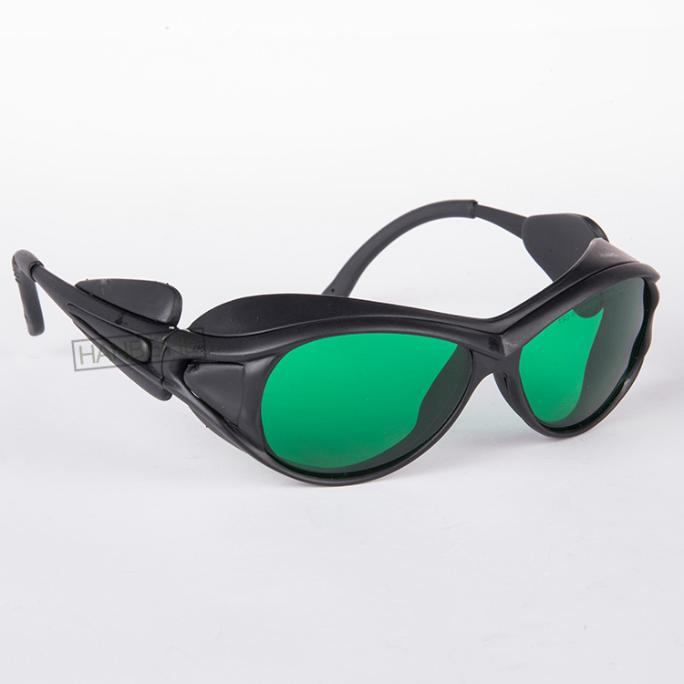 O.D 4+ laser safety glasses for red laser 755nm alexandrite lasers CE certified with style 2<br>