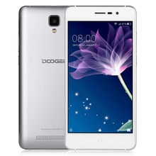 Original Doogee X10 3G Smartphone 5.0 Inch Android 6.0 MTK6570 Dual Core 1.0GHz Mobilephone 512MB RAM 8G ROM 5.0MP Camera GPS