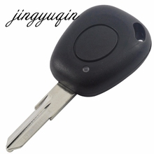 New 1 Button Key Fob Remote Shell Case Uncut Blade For Renault Megane Scenic Laguna Espace Clio Replacement Cover