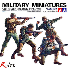 RealTS TAMIYA MODEL 1/35 SCALE military models #35013 U.S. Army Infantry