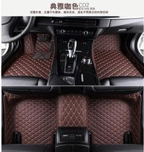 lane legend case Custom special floor mats for Hyundai Sonata 9 2017 waterproof rugs non-slip carpets for Sonata car styling(China)