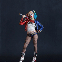 "12"" Suicide Squad Joker Harley Quinn Action Figure Cartoon Anime  Model Toys Collections Gifts Harleen batman deadshot venom"