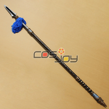 "78"" Dynasty Warriors 6 Zhao Yun's Wand PVC Cosplay Prop -0440"