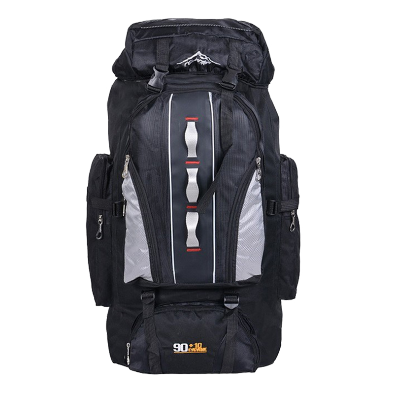 100L Large Capacity Outdoor Sports Backpack Men and Women Travel Bag Hiking Camping Climbing Fishing Bags waterproof Backpacks<br>