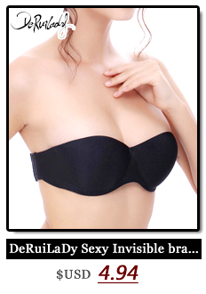 DeRuiLaDy Smooth Seamless Bra Adjusted Wire Free Push up Bra 3/4 Cup Four Hook-and-eye Thin Seamless Bralette Underwear Lingerie